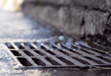 sewer water grate